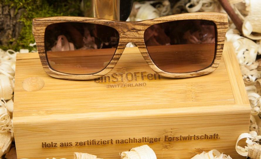 Das neue Material aus dem Brillen und Sonnenbrillen sind- jetzt bei uns!