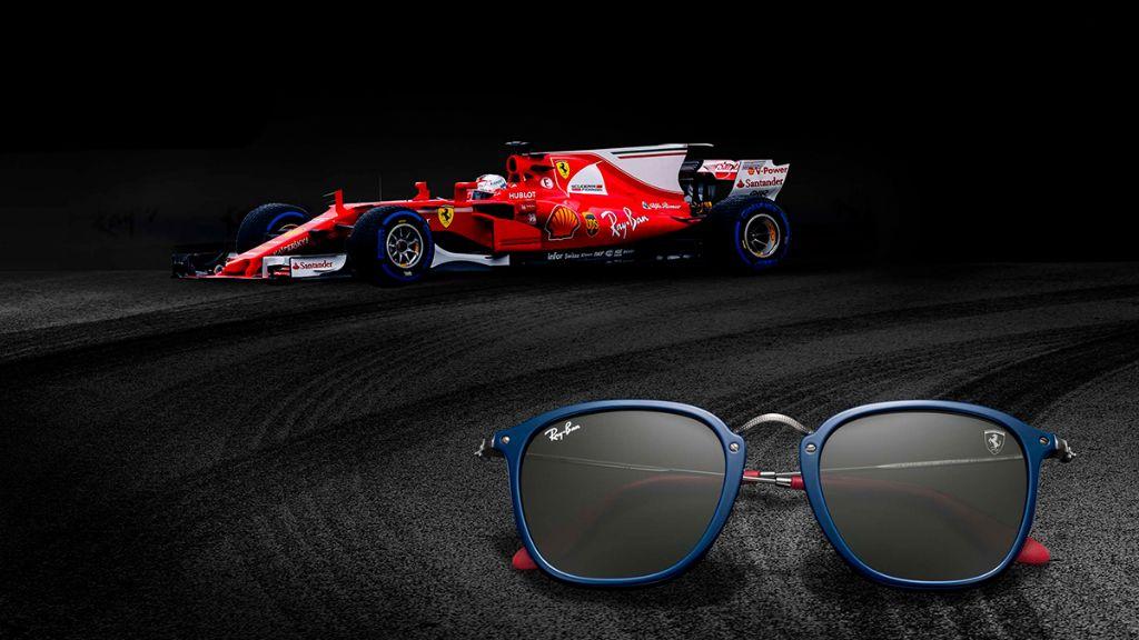 Exklusives Design in limitierter Auflage 2018 - Ray Ban meets Ferrari